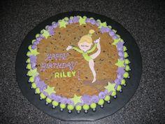Gymnast Birthday Cake cakepins.com