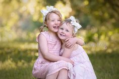 These girls are just too sweet! #familyphotographerMelbourne #Melbournefamilyphotography #siblinglove #sisters #naturalfamilyphotography #funfamilyphotos #memories #familyoffour #childphotographermelbourne #preciousmoments Family Of Four, Young Family, Baby Family, Fun Family Photos, Photographing Babies, Precious Moments, These Girls, Family Photographer, Newborn Photography