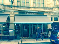 Glassworks, Cardiff. Home of the Gourmet Burger