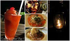 Dining in Grace Bay, Providenciales, Turks & Caicos!