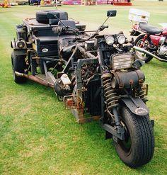 Rat Trike / Survival Trike Motorbike at Barnsley Classic & Custom Bike Show by Steve Greaves, via Flickr