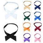 Unisex Cross Over Bowtie Mens Necktie Cravat Pre Tied Adjustable bow tie Satin | eBay Herringbone Suit, Wedding Cross, Easy Clip, Boys Bow Ties, Cravat, Crossbow, Unisex Fashion, Bows