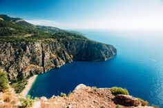 Butterfly Valley, just south of Ölüdeniz, is home to some distinct butterfly species, but it's also home to some truly exceptional views.