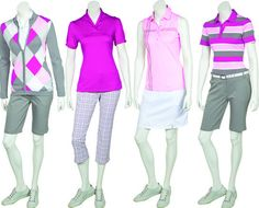 women golf outfits | AUR 2013 Women's Collection offers distinctive style, fine quality and ...