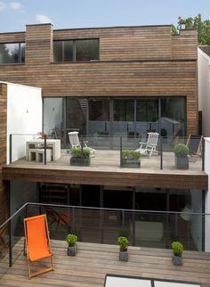 Træhus terrasser