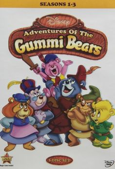 Setting the stage for later shows like DUCKTAILS and ADVENTURES OF WINNIE THE POOH, DISNEY'S ADVENTURES OF THE GUMMI BEARS was a favorite among children's audiences in the 1980s. The show revolves around sweet-natured do-gooders the Gummie Bears, who w...