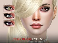Eyes in 10 colors.  Found in TSR Category 'Sims 4 Eye Colors'