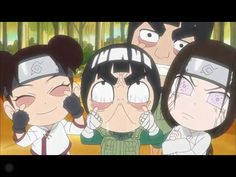 This picture is from Naruto SD: Rock Lee and his Ninja Pals! Probably the funniest anime I've seen. Naruto Sd, Anime Naruto, Kakashi, Anime Ninja, Naruto Cute, Naruto Funny, Gaara, Naruto Shippuden, Susanoo Naruto
