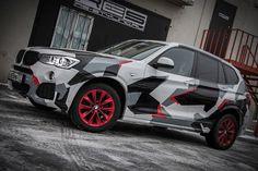 BMW X3 camo