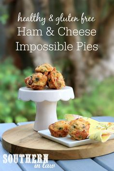 This Ham and Cheese Impossible Pies Recipe is like a cross between a frittata and quiche. Made with just a few ingredients (and sneaky hidden veggies), this is the perfect meal prep recipe as it is kid friendly, high protein, gluten free and sugar free. Healthy Muffin Recipes, Savory Snacks, Healthy Lunches, Healthy Kids, Keto Recipes, Sugar Free Lunch Ideas, Sugar Free Recipes, Impossible Pie, Dairy Free