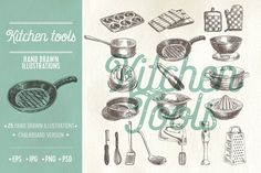 Kitchen tools sketch illustrations food kitchen pan sketch drawing cook drink art drawn cooking hand isolated cafe plate white tool pot coffee vector symbol cup restaurant graphic utensil cutlery spoon tea equipment doodle dinner illustration icon object retro collection design knife set vintage menu background pattern fork kitchenware glass