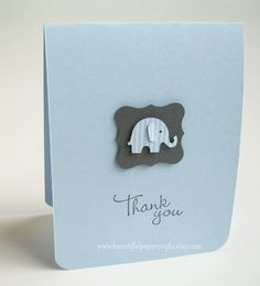 Thank You Baby Elephant Cards Baby Shower cards Elephant Baby Thank You Cards, Baby Shower Thank You, Baby Shower Fun, Baby Shower Cards, Baby Cards, Kids Cards, Elephant Baby Showers, Baby Elephant, Baby Shower Party Favors