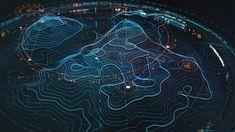 2018 - Topography FUI Concept - Make 2 Digital on Behance Cyberpunk, Map Design, Graphic Design, Futuristic Design, Interface Design, User Interface, Data Visualization, Map Art, Interstellar
