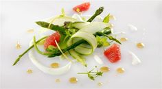 Fine Dining Salads | Asparagus Recipes For Meatless Monday