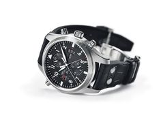 ♠ The IWC Pilot's Watch Double Chronograph #Men #Watches #Lifestyle