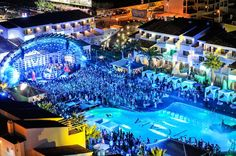 Top seven party destinations around the world