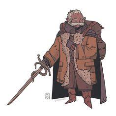 Mr.Kingsfire: Hobbit Assassin by badbucket