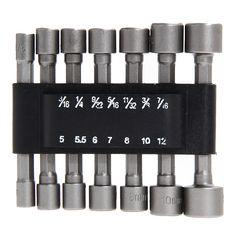 $4.44 (Buy here: https://alitems.com/g/1e8d114494ebda23ff8b16525dc3e8/?i=5&ulp=https%3A%2F%2Fwww.aliexpress.com%2Fitem%2F14pcs-Metric-Quick-Change-Power-Nut-Driver-Bit-Set-Screwdriver-Nutdrivers-Hand-Tools-Wrench-1-4%2F32681077354.html ) 14pcs Metric Quick Change Power Nut Driver Bit Set Screwdriver Nutdrivers Hand Tools Wrench 1/4 Hex Cordless Drill Nut-Driver for just $4.44