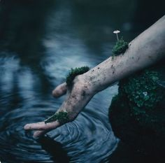 """""""The Ripple Effect of Life & Death"""" — Photographer/Concept/Model: Danny Richardson Photography Story Inspiration, Character Inspiration, Feral Heart, Slytherin Aesthetic, Witch Aesthetic, Death Aesthetic, Aesthetic Dark, Dark Photography, Conceptual Photography"""
