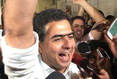 """Com a força de Deus e do Povo: """"Pinheiro é eleito prefeito de Cuiabá no segundo turno"""""""