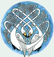 Super intricate and elaborate.. but I have a friend who's heraldry is a swan.. I bet she'd love this...