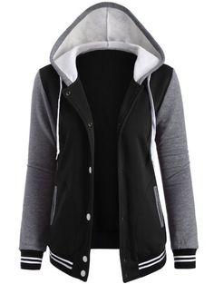 GET $50 NOW   Join Zaful: Get YOUR $50 NOW!http://m.zaful.com/varsity-baseball-fleece-hoodie-jacket-p_223102.html?seid=1657783zf223102