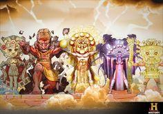 Los nombres de esas divinidades nos resultan extraños y desconocidos, así que en esta publicación intentaremos describir esa milenaria c...