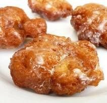 Apple fritters for brkfst.These were a big hit! And easy too! I tripled the recipe to bring for a group. No Fear Entertaining: Apple Fritters for Breakfast Apple Fritter Recipes, Donut Recipes, Apple Recipes, Fall Recipes, Easy Apple Fritters Recipe, Baked Apple Fritters, Apple Fritter Bread, Carbquik Recipes, Apple Spice Cake