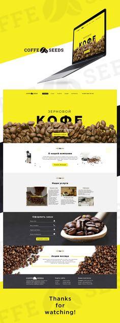 Ilchenko Denys on Behance Food Web Design, Ui Ux Design, Site Inspiration, Wordpress, Site Vitrine, Web Design Projects, Web Layout, Interactive Design, Behance