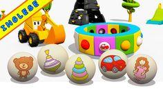 Cartoni animati per bambini in inglese e italiano: Max e i giocattoli
