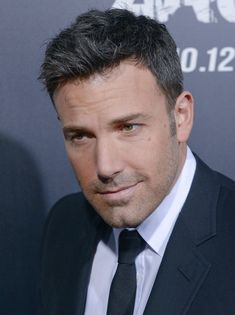 Yeah, I know how to do that. Ben Affleck