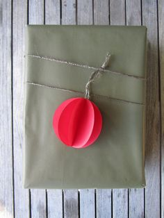 "DIY ""Ornament"" Wrap"