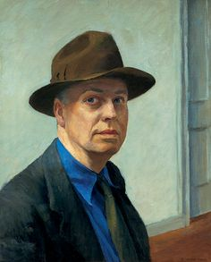 Edward Hopper / Self Portrait / 1925-1930 / Whitney Museum of American Art, New York