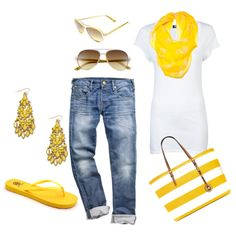 """""""Summer Casual"""" by honeybee20 on Polyvore"""