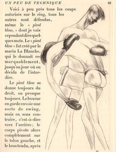 André Dunoyer de Segonzac illustre Le tableau de la boxe de Tristan Bernard, 1922