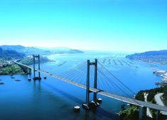 Ponte Rande sobre la Ría de #Vigo #Pontevedra #Galicia #SienteGalicia #GaliciaCalidade ➡ Descubre más en http://www.sientegalicia.com/