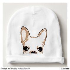 French Bulldog Baby Beanie