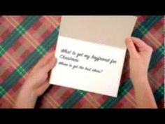 Video with ideas for What to get your boyfriend for Christmas