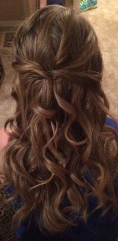 Wedding hair ideas- Loose curls