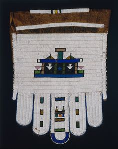 Ndebele people, South Africa - Bride's apron Stanford University, Beading Projects, African Art, South Africa, Iris, Apron, Weaving, Textiles, Traditional