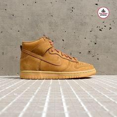 Wheat #Nike Dunk High Premium