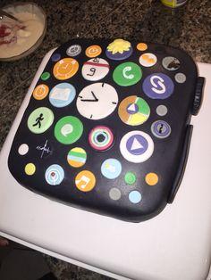 Apple iwatch cake