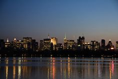 View across the Jacqueline Kennedy Onassis Reservoir.