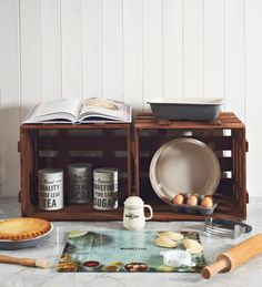 Have a look at our stunning Baker St range, super vintage style bowls and accessories, they would look super cool in your kitchen! http://silvermushroom.com/product-tag/baker-street/