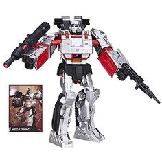 Action Figure Vehicles - TRANSFORMERS Generations Combiner Wars  MEGATRON Figure *** You can get more details by clicking on the image.
