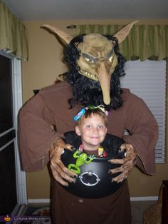 Hungry Troll - Homemade costumes for boys
