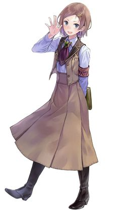 Esty Erhard from Atelier Rorona: The Alchemist of Arland