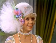 Carol Burnett- She helped me through a very difficult time of my life when I was 9/10 years old. I wish I could tell her thank you. Angie