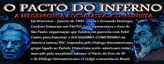 CONSPIRATIO 3: O PACTO ENTRE LULA E FHC EM PRINCETON - FORO DE SÃ...