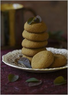 Sweet Molasses Cookies...to College Road Trips